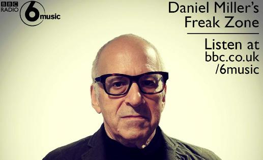 Daniel Miller BBC Radio 6 Musci